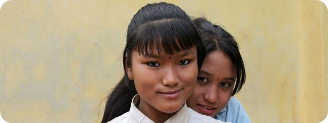 Nepal-lahjoitasivu
