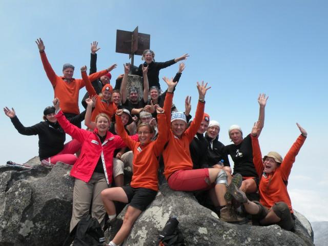Kapua 2010 Malawi -ryhmä huiputtaa Mulanje-vuoren!